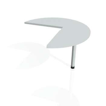 Přídavný stůl Hobis CROSS CP 21 pravý, šedá/kov