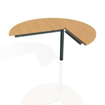 Přídavný stůl Hobis CROSS CP 22 levý, buk/kov