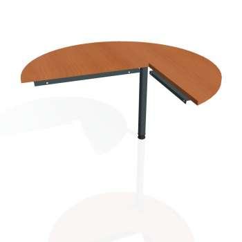 Přídavný stůl Hobis CROSS CP 22 levý, třešeň/kov