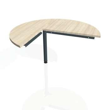 Přídavný stůl Hobis CROSS CP 22 pravý, akát/kov