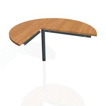 Přídavný stůl Hobis CROSS CP 22 pravý, olše/kov