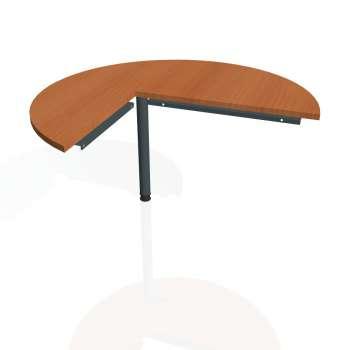 Přídavný stůl Hobis CROSS CP 22 pravý, třešeň/kov