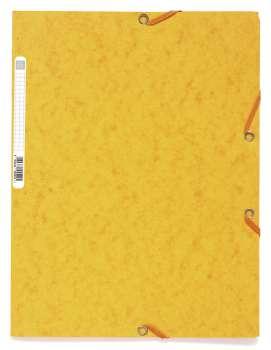 Prešpánové desky s chlopněmi a gumičkou Office Depot - A4, mix barev, 10 ks
