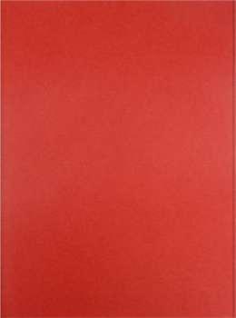 Papírové desky bez chlopní Office Depot - A4, červené, 100 ks