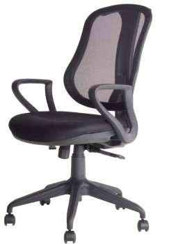 Kancelářská židle Realspace Hugo synchronní - černá