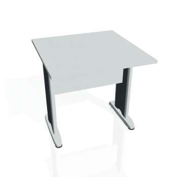 Jednací stůl Hobis CROSS CJ 800, šedá/kov