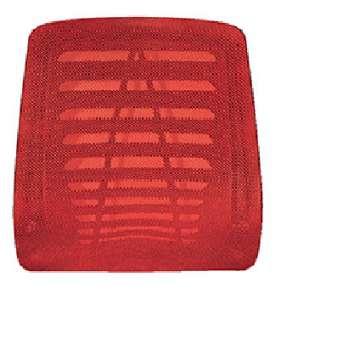 Opěrák k židli a křeslu Taylor, červený