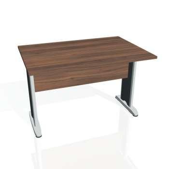 Jednací stůl Hobis CROSS CJ 1200, ořech/kov