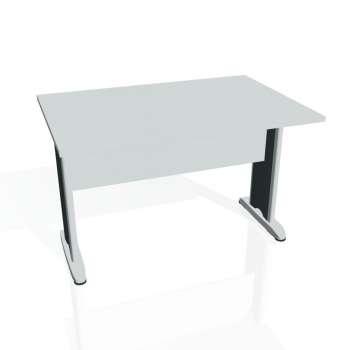 Jednací stůl Hobis CROSS CJ 1200, šedá/kov