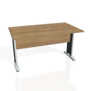 Jednací stůl Hobis CROSS CJ 1400, višeň/kov