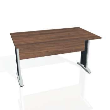 Jednací stůl Hobis CROSS CJ 1400, ořech/kov