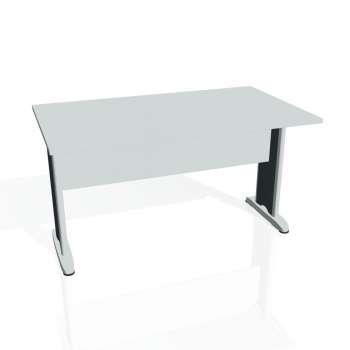 Jednací stůl Hobis CROSS CJ 1400, šedá/kov