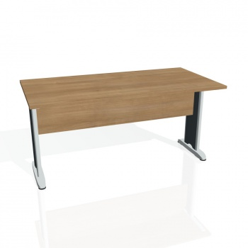 Jednací stůl Hobis CROSS CJ 1600, višeň/kov