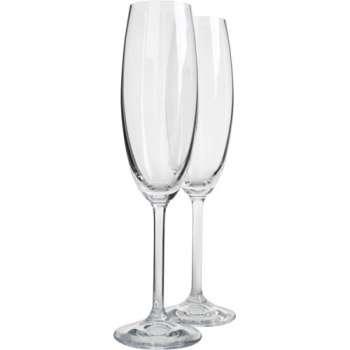 Skleničky na šampaňské, 6 x 220 ml