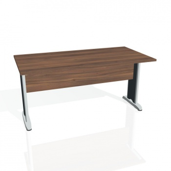 Jednací stůl Hobis CROSS CJ 1600, ořech/kov