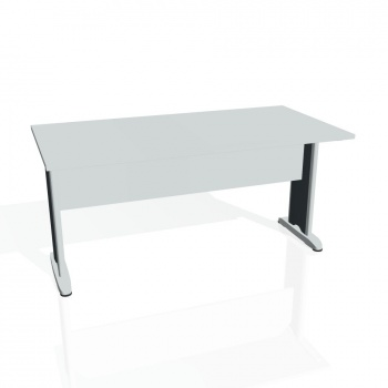 Jednací stůl Hobis CROSS CJ 1600, šedá/kov