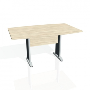 Jednací stůl Hobis CROSS CJ 150, akát/kov