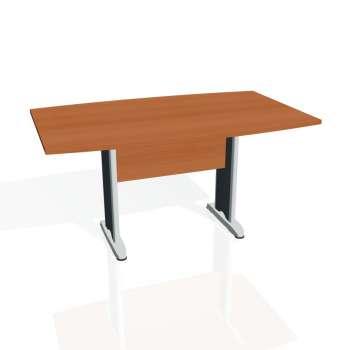 Jednací stůl Hobis CROSS CJ 150, třešeň/kov