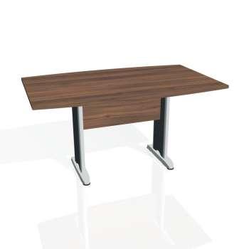 Jednací stůl Hobis CROSS CJ 150, ořech/kov