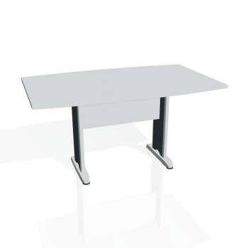Jednací stůl Hobis CROSS CJ 150, šedá/kov