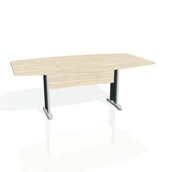Jednací stůl Hobis CROSS CJ 200, akát/kov