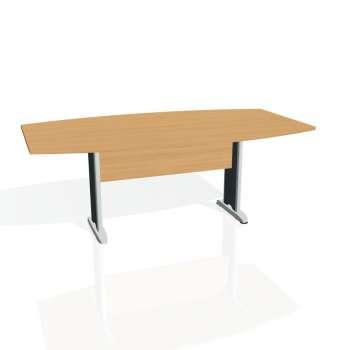 Jednací stůl Hobis CROSS CJ 200, buk/kov