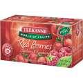 Ovocný čaj Teekanne maliny a brusinky, 20x 2,25g