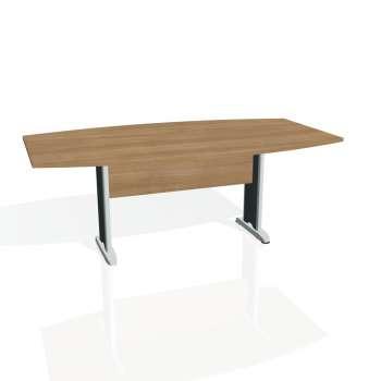 Jednací stůl Hobis CROSS CJ 200, višeň/kov