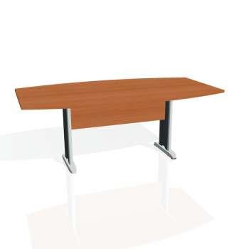 Jednací stůl Hobis CROSS CJ 200, třešeň/kov