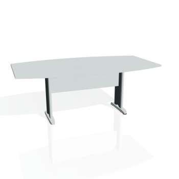 Jednací stůl Hobis CROSS CJ 200, šedá/kov