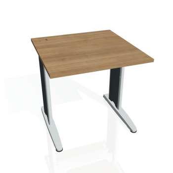 Psací stůl Hobis FLEX FS 800, višeň/kov