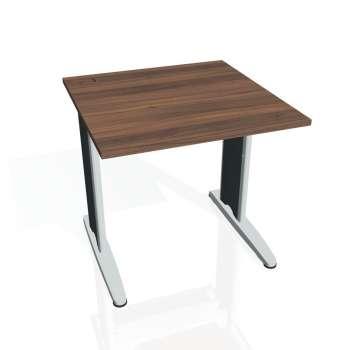 Psací stůl Hobis FLEX FS 800, ořech/kov