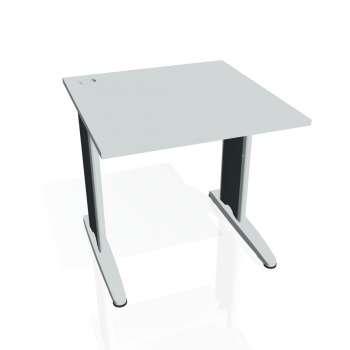 Psací stůl Hobis FLEX FS 800, šedá/kov