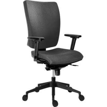 Kancelářská židle Galia plus, černá