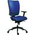 Kancelářská židle Galia plus, SY - synchro, modrá