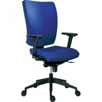 Židle kancelářská Galia plus, modrá