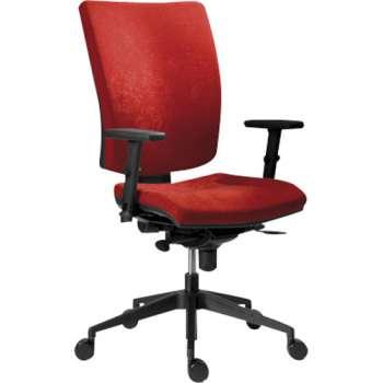 Kancelářská židle Galia plus, červená