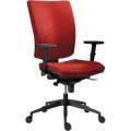 Kancelářská židle Galia plus, SY - synchro, červená