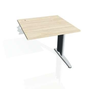 Psací stůl Hobis FLEX FS 800 R, akát/kov
