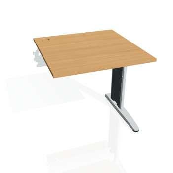 Psací stůl Hobis FLEX FS 800 R, buk/kov