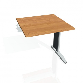 Psací stůl Hobis FLEX FS 800 R, olše/kov