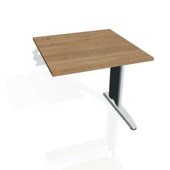 Psací stůl Hobis FLEX FS 800 R, višeň/kov