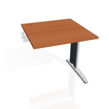 Psací stůl Hobis FLEX FS 800 R, třešeň/kov