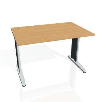 Psací stůl Hobis FLEX FS 1200, buk/kov