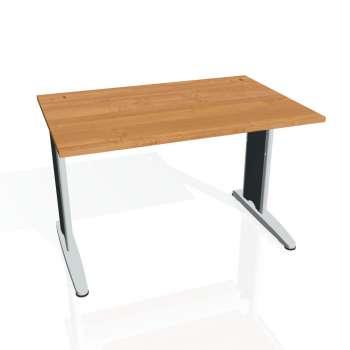 Psací stůl Hobis FLEX FS 1200, olše/kov