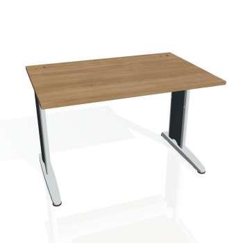Psací stůl Hobis FLEX FS 1200, višeň/kov