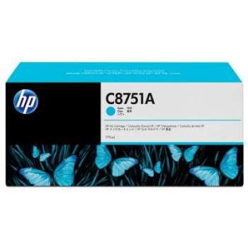 Cartridge HP C8751A - azurová