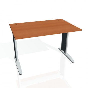 Psací stůl Hobis FLEX FS 1200, třešeň/kov