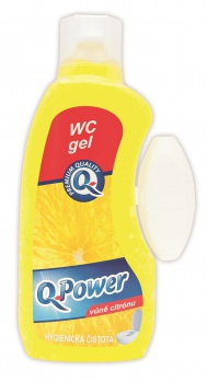 WC gel Q-Power - citrus, 400 ml