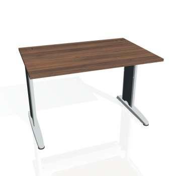 Psací stůl Hobis FLEX FS 1200, ořech/kov